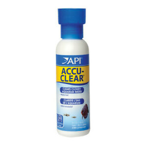 API Accu Clear 118ml Aquarium Fish Tank Cloudy Water Treatment