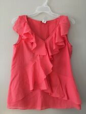 J Crew Blouse Size 4 Pink Color 60% Silk 40% Cotton China