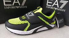 Emporio Armani EA7 7.0 RACER men's velcro running shoes size 7.5UK*