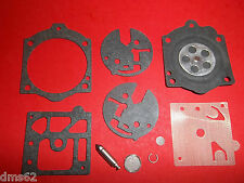 REPLACEMENT COMPLETE CARB KIT FITS MCCULLOCH PRO MAC 610 655 650 3.7 TIMBERWOLF