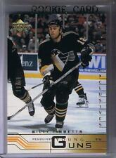(HCW) 2001-02 Upper Deck YG Exclusives BILLY TIBBBETTS 19/50 Young Guns RC 02166