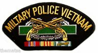 """ARMY MILITARY POLICE VIETNAM VETERAN  EMBROIDERED SERVICE RIBBON 6"""" PATCH"""