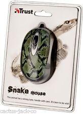 Nuevo único Trust 16966 Mini Mouse USB óptico de serpiente de Vida Silvestre Venta