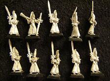 Warhammer High Elves  Sword Masters Hoeth army lot 10