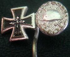 ✚6467✚ German post WW2 1957 pattern Iron Cross Wound Badge miniature stickpin