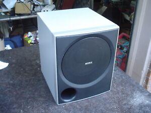 Sony SS-MSP700 Home Theatre Passive Bass Reflex 6 ohm Subwoofer Speaker #2