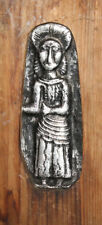 Vintage hand made wood/metal wall hanging plaque