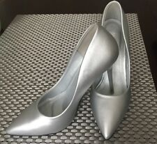 Belle Woman Silver High Heel Shoes Size Eur 38