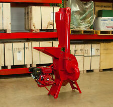 Hammer Mill Feed Grinder - 7.5hp Gasoline Engine Powered! USA In-stock w/support