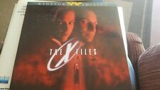 The X Files / widescreen  - LASERDISC