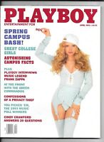 Back Issue April 1993 Playboy ~ Tonja Christiansen Cover ~ Frank Zappa Interview
