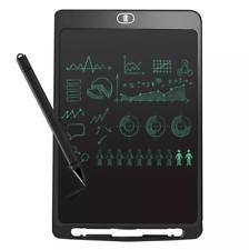 """Cojín de escritura portátil Tablet LCD 10"""" E-escritor Gráfico Niño Hazlo tú mismo dibujo tablero de trabajo"""