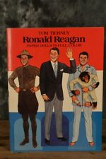 1984 Dover Tom Tierney Ronald Reagan Paper Doll Activity Book W/ Free Shipping
