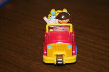 "2007 Learning Curve Dora the Explorer & Boots 3"" Magnet Diecast Metal Car"