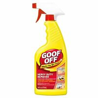 Goof Off FG720 Heavy Duty Spot Remover and Degreaser, Trigger Spray 16-Ounce