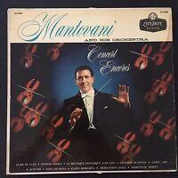 Mantovani And His Orchestra – Concert Encores 1958 Vinyl LP Record