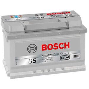 Batterie tourisme BOSCH Bosch S5007 74Ah 750A