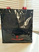 Celia Birtwell Small  Bag Black with Red Handles and Motives
