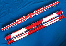 SPEICAL OFFER - QUALITY HANDMADE SNOOKER CUE CASE UNION JACK STYLE