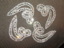 "Baton Twirling ""Rhinestone Swirl"" 4 Pieces1980'S Took Off My Old Uniforms"
