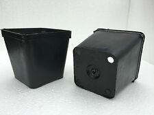 VASI PLASTICA QUADRATI cm 10 - 10x10 - 10x10x10 - 10x10x11 -10x10x12 - 10x10x17