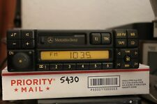 MERCEDES 94-98 BECKER BE1692 AM/FM RADIO CASSETTE DECK WITH CODE TESTED W1211775