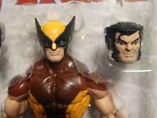 Retro MARVEL LEGENDS BROWN WOLVERINE - MIP  ! X-Men logan ! Vintage