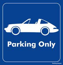Parking Only-Porsche 911 Targa-Autocollant