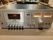 Vintage Mint physical cond Cs-702D ll Cassette Deck Rare. Needs tune up.