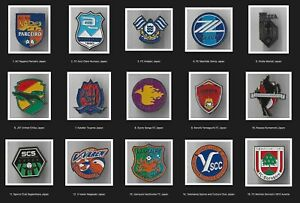 Metal Pin APRIL 2021 World Football Clubs Part 2 Japan Kazakhstan Finland Italy