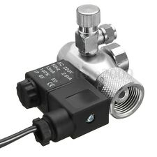 G5/8 Aquarium Compact Aquarium CO2 Regulator w/ Solenoid Magnetic Valve US Plug