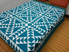 Queen size Machine pieced and quilted quilt #NJ-78Q