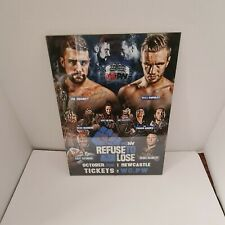 More details for wcpw refuse to lose signed poster including young bucks will ospreay aew wwe