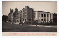 Canada BC British Columbia - Vancouver - YMCA Building - TIMMS RPPC Postcard - A