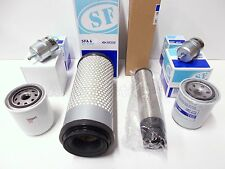 Full Filter Kit for KUBOTA F3560 & F3680 mower - oil, fuel, hyd, air inner/outer