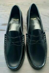 Celine LUCO POLISHED LOAFERS SLIPPERS HALBSCHUHE College Shoes Flats 38