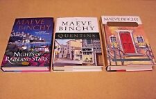 Lot 3 Maeve Binchy HC Book Scarlet Feather/Quentins/Nights of Rain And Stars