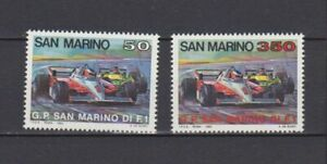 S34608 Dealer Stock San Marino 1983 MNH Grand Prix 2v X 10 Sets