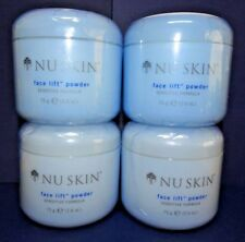 Four pack: Nu Skin Nuskin Face Lift Powder Sensitive Formula 75g 2.6oz SEALED x4