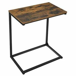 Side Table, Small Sofa Table, End Table, Laptop Table, for Bedroom