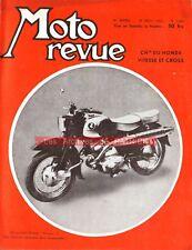 MOTO REVUE 1404 PEUGEOT 125 55 TCL HONDA Sport Cross 1958 Carburateur CORBETTA