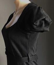 Gorgeous Black CROSSROADS Cap Sleeve Knee Length Sheath Dress Size 10