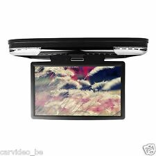 """15.6"""" - 1080P Video HD Monitor Wide Screen Overhead DVD Player with HDMI Port"""