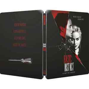 BASIC INSTINCT 4K UHD LIMITED EDITION STEELBOOK / PRE-SALE / WORLDWIDE SHIPPING