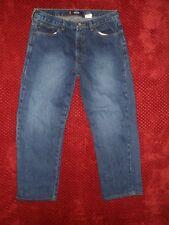 BONGO jrs 11 L (actual 31x26) Milestone Straight Leg Dark SDB Sturdy JEANS high