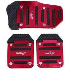 Non Slip Sports Manual Transmission Car Auto Pedal Cover Brake Pad Plate Set