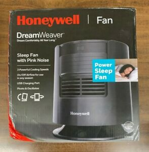 Honeywell Home - DreamWeaverSleep Fan - Black (New In The Box)  -  Free Shipping