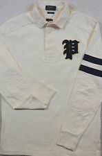 NWT $125 Polo Ralph Lauren Custom Fit SIZE S Gothic P Jersey Rugby Shirt SMALL