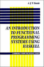 Introduction to Functional Programming Systems Using Haskell-ExLibrary