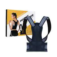 Men Women Posture Corrector Support Magnetic Back Shoulder Brace Belt Adjustable